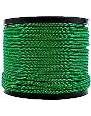 Soomloom テント用ロープ 反射材付き 張り綱 全長50m ロープ直径4㎜