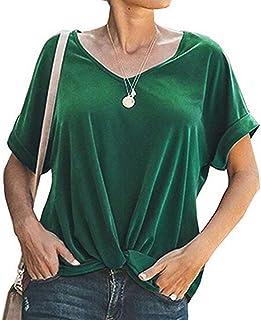 86acd44f82fd Amazon.es: Verde - Camisas y blusas / Mujer: Deportes y aire libre