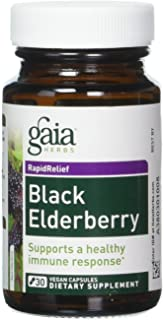 Black Elderberry Gaia Herbs 30 VCaps