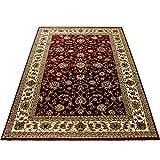 Teppich Orientteppich Wohnzimmer Klassische Optik Orientalisch Ornamente Rot, Maße:200 cm x 290 cm - 2