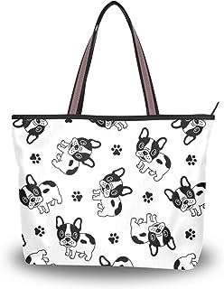 My Daily Damen-Handtasche mit französischer Bulldogge