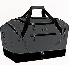 JAKO Unisex - Sporttas voor volwassenen, grijs, senior, 3