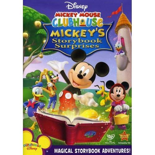 5d6764927e3 Amazon.com  Disney Mickey Mouse Clubhouse  Mickey s Storybook Surprises   Mickey Mouse Clubhouse