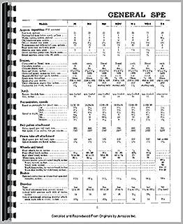 Mccormick Deering OS6 Tractor Service Manual