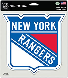 WinCraft NHL New York Rangers 87538010 Perfect Cut Color Decal, 8