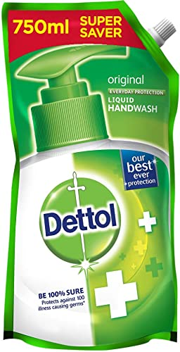 Dettol Original Germ Protection Handwash Liquid Soap Refill, 750ml