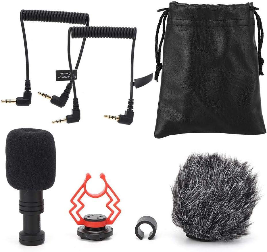 Bargain CiCiglow Video Microphone Super-Cardioid On-Camera Sh Condenser Recommendation