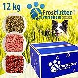 Nourriture pour chien - 12kg - Inclus: panse verte, feuillets, Power-Mix, mélange de viande de bœuf avec panse, mélange de...