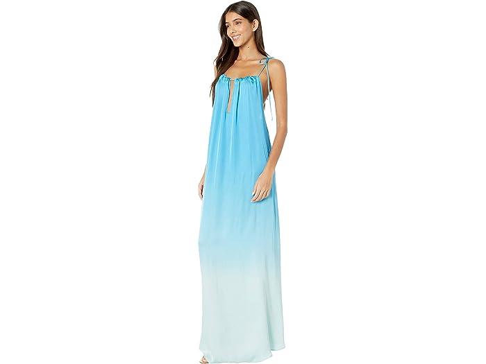 Young Fabulous & Broke Stevie Dress Bali Blue Ombre Dresses