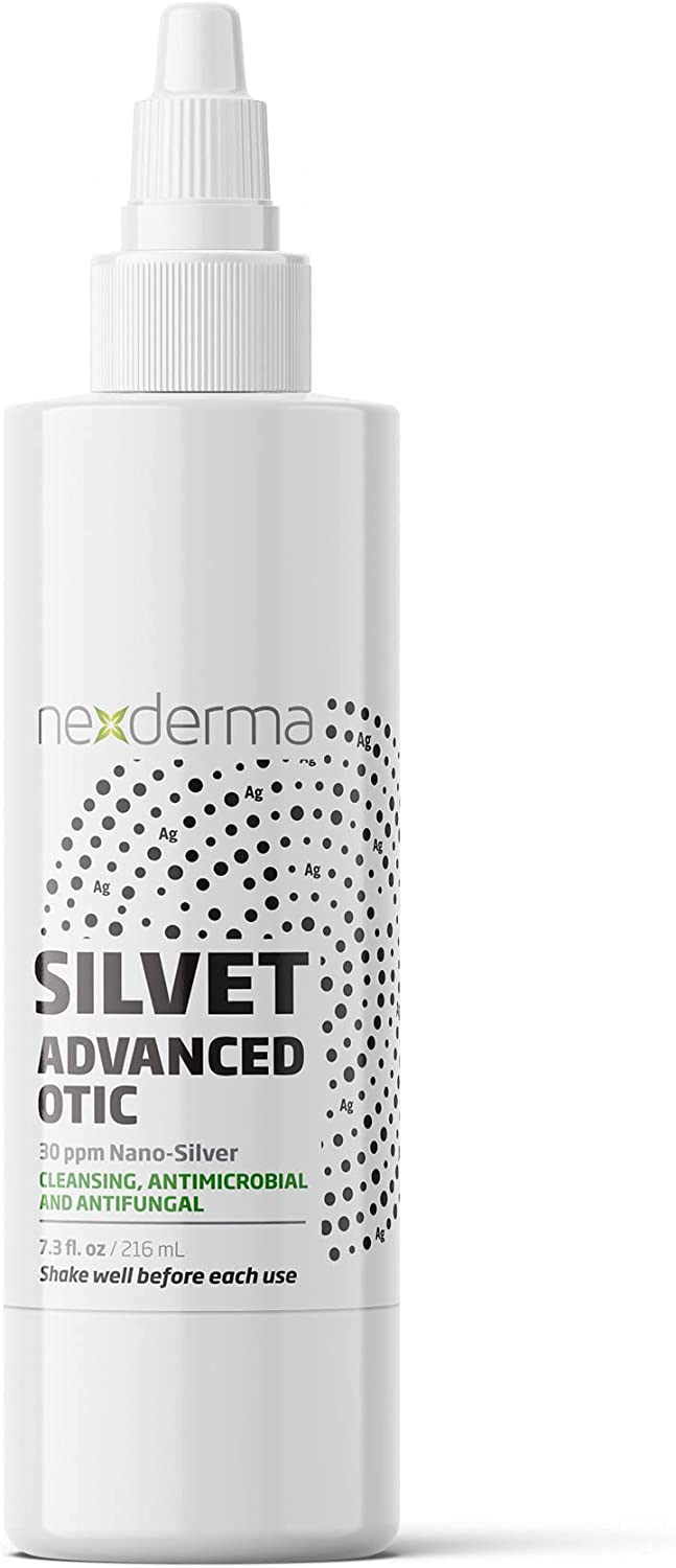 Max 68% OFF NEXDERMA Silvet Advanced half Ear Cleaner for and Ri Otic Dogs - Cats