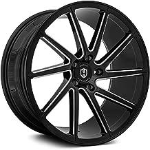 Curva C22 Custom Wheel - Black with Milled Accents Rims - 20