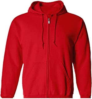 neveraway Men Zip-Front Sport Cardigan Pockets Hoodie Hooded Sweatshirt