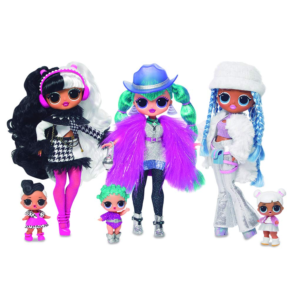 Giochi Preziosi L.O.L Surprise - OMG Top Secret Dolls - Winter Edition - Modelos Surtidos (Giochi Preziosi LLU96000): Amazon.es: Juguetes y juegos
