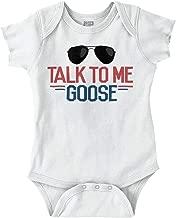 Talk to Me Goose Funny Movie Newborn Baby Romper Bodysuit