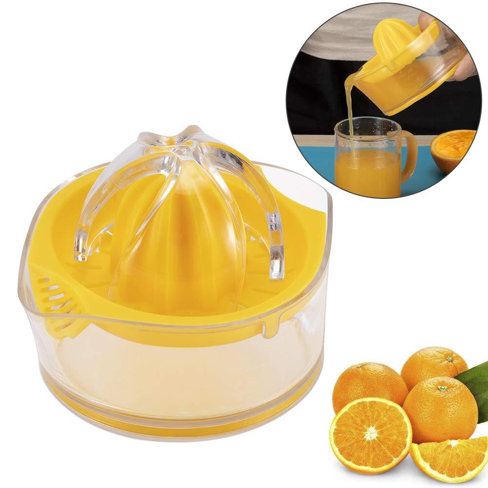 Exprimidor de limón manual con colador, base antideslizante: Amazon.es: Hogar