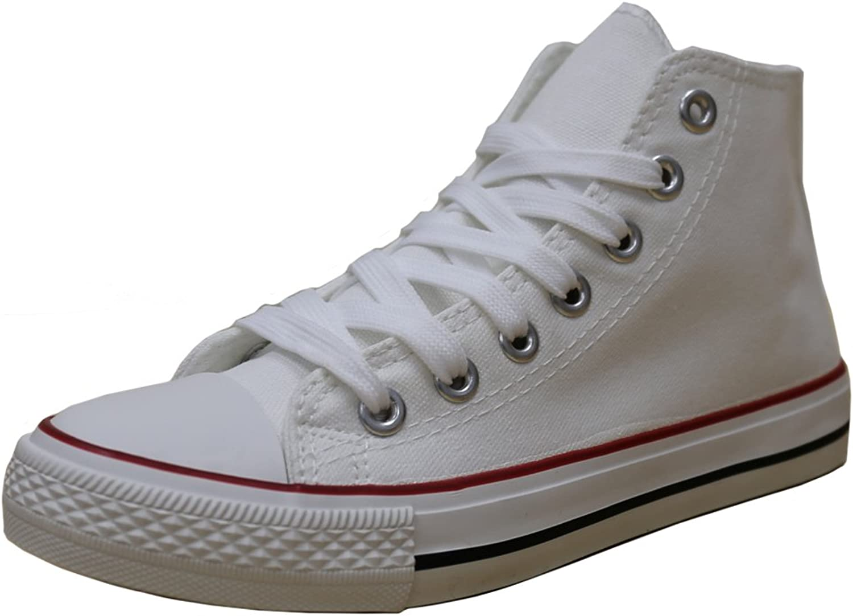 S-3 Women's High Top Classic Canvas Fashion Sneaker