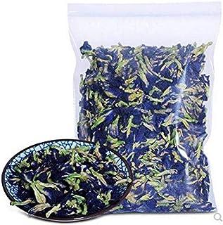 500 Grams Naturally Produced Blue Butterfly Pea Flowers, Organic Dried Butterfly Pea Flower Clitoria Ternatea Herbs Herbal Healthy Tea Drink Recipes Food Coloring Antioxidants Aging Wrinkles