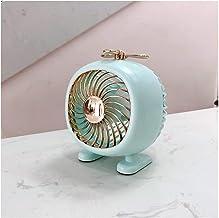 JULABO Durable Mignon Mini Ventilateur de Bureau USB Portable Rond Ventilateur électrique Home Office 3 Vitesses Vent de R...