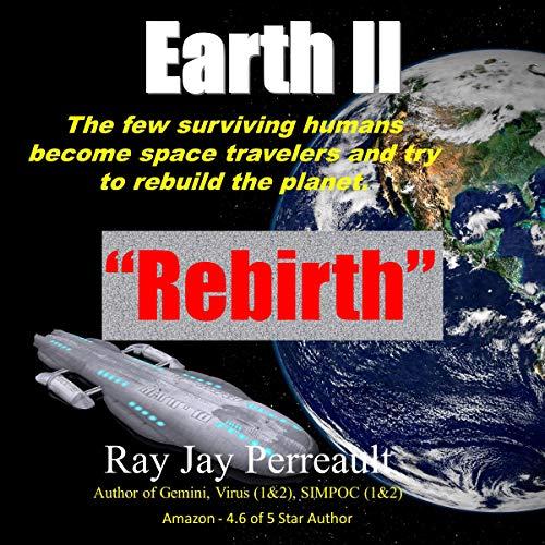 Earth II - Rebirth audiobook cover art