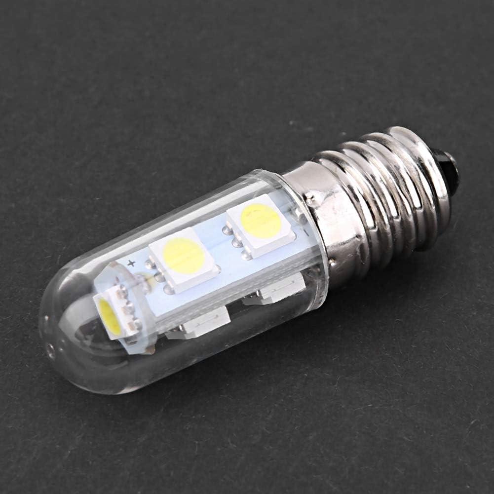 Aoutecen Bombilla de lámpara, Bombilla de maíz Bombilla de luz fácil de Instalar y Duradera para refrigerador para Campana extractora(Blanco, 220 V, Rosa)