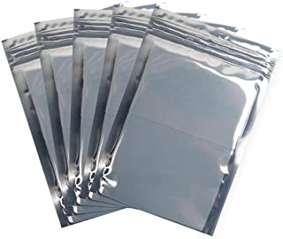 InTeching Anti-Static Resealable Bags for 2.5 Inches Hard Drvies, Solid State Drives (SSD), PBC, RAM, CPU and Electronic Devices, 3.9x5.9 Inches, Pack of 100