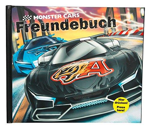 Freundebuch Monster Cars