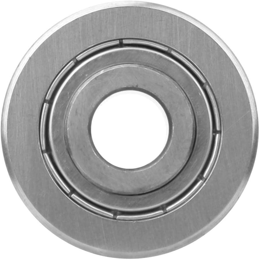 Roller Bearing LFR5201-14 KDD Track Guide Track Bearing LFR5201-14 Practical 12 x 39.3 x 20mm High Carbon Chrome Bearing Steel for Spherical Raceway 0.47 X 1.55 X 0.79In