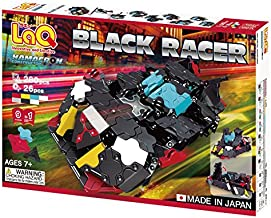LaQ Hamacron Constructor Black Racer - 9 Models, 280 Pieces - Creative Construction Toy