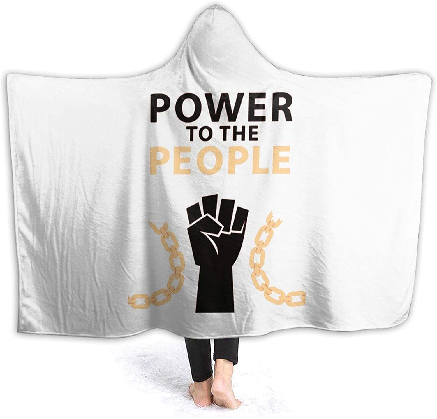 Power to The People Very popular! Wearable Sofa Limited time sale Throw Stylish Blanket
