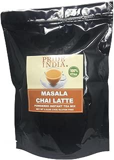 Pride Of India - Masala Chai Latte - Powdered Instant Tea Premix, 1 Kilo (2.2 lbs) Pack (Makes 100 Cups)