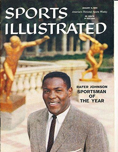 Jan 5 1959 Rafer Johnson Sportsman no label Sports Illustrated SI60-61