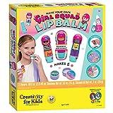 Creativity for Kids Girl Squad Lip Balm - Makes 5 Natural Lip Balms