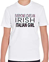 Makoroni - Everyone Loves an Irish Italian Girl Kid's Short Sleeve T Shirt