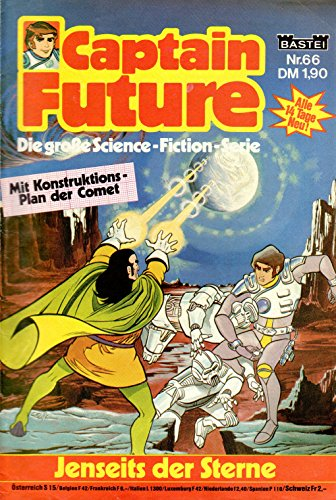 Unbekannt Captain Future - Die große Science-Fiction-Serie Comic # 66: Jenseits der Sterne