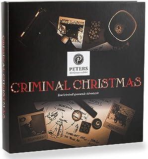 """Peters Adventskalender """"Criminal Christmas"""", 1er Pack 1 x 255 g Ein ganz besonderes Geschenk für die Adventszeit"""