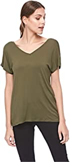 Bershka Blouses For Women, Olive Green, Size XS