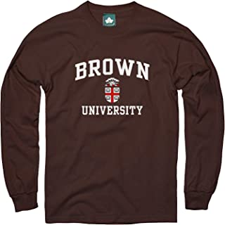 Cotton Long Sleeve T-Shirt with Crest Logo