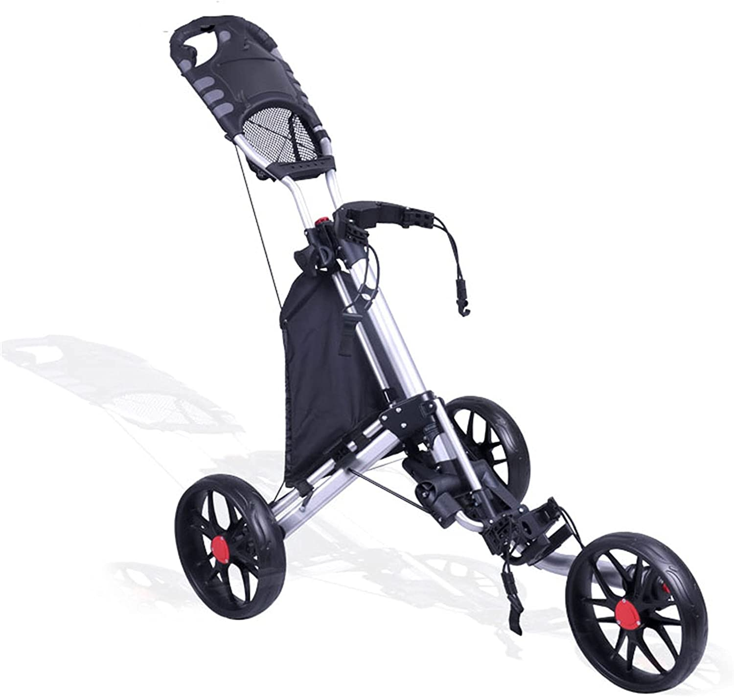 WJY Brand new Golf Push Cart High order Deluxe Aluminum Easy Frame Trolley to Op