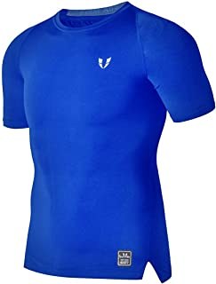 FIRM ABS Mens Athletic Workout Gym Quick Dry Breathable Short Sleeve T Shirts