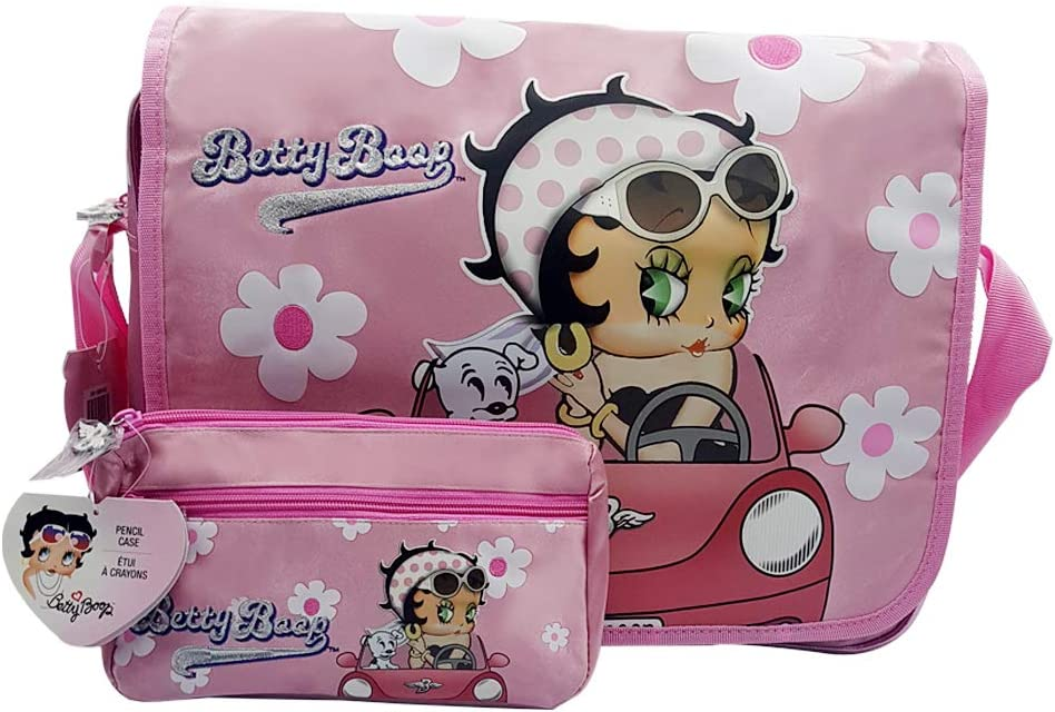 """Licensed New Betty Boop /""""Attitude Is Everything/"""" Pink Key Chain Coin Purse"""