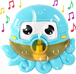 Bubble Bath Maker for The Bathtub. Blows Bubbles and Plays 24 Children's Songs – Baby, Toddler Kids Bath Toys Makes Great ...