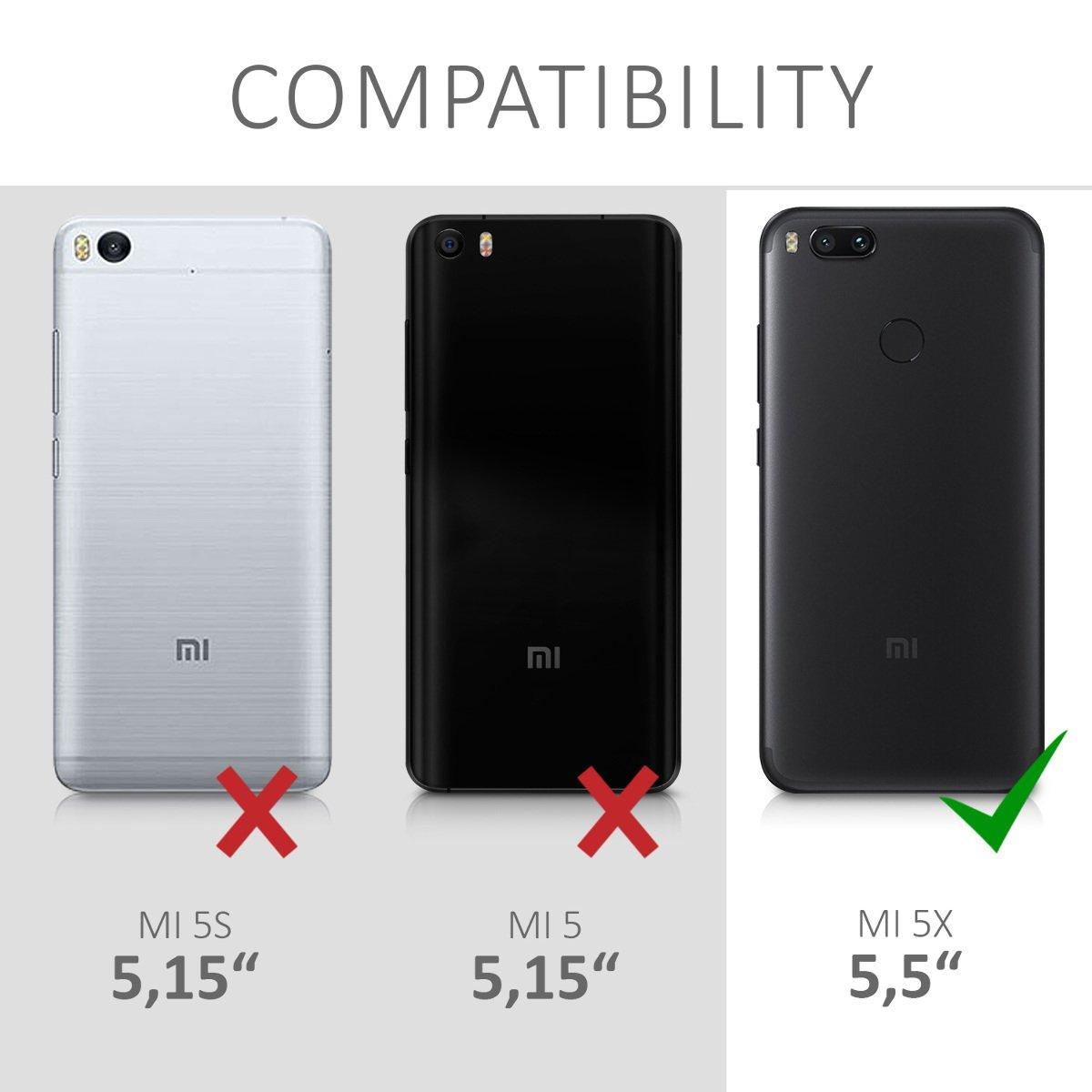 kwmobile Funda Compatible con Xiaomi Mi 5X / Mi A1: Amazon.es: Electrónica