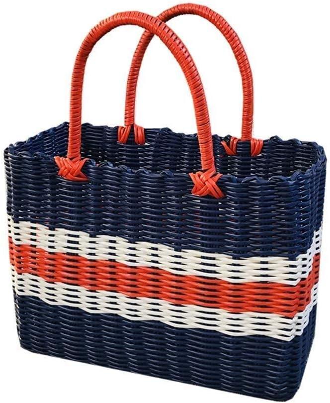 Yadianna Picnic Bag Blue Shopping outlet Buy Basket Fort Worth Mall H Vegetables
