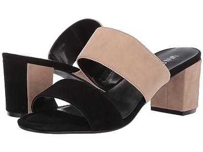 Vaneli Matida (Black Suede/Nude Suede/Metch Elastic) High Heels