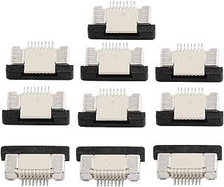 Herramientas eléctricas y de mano Conectar inferior 6Pin del Pitch 1.0 mm de la cinta FFC FPC zócalos de conexión 10Pcs