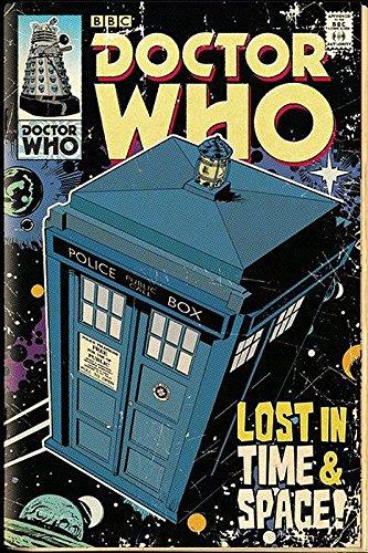 Close Up Doctor Who Poster Tardis Comic (61cm x 91,5cm)