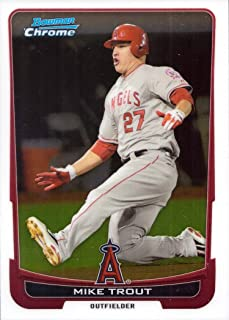 Amazoncom Mike Trout Trading Cards Sports