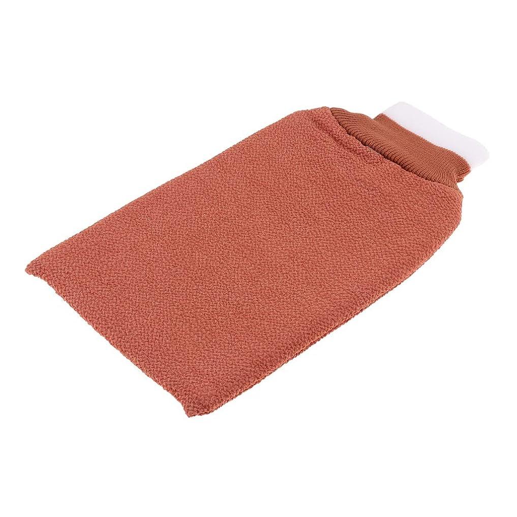 川和らげるコテージdailymall お風呂手袋 シャワーグローブ 垢すり手袋 毛穴清潔 角質除去 泡立ち バスグローブ 浴用手袋 全3色 - シャンパン