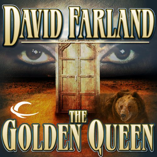 The Golden Queen audiobook cover art