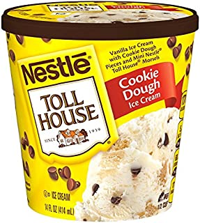 Nestle, Toll House Cookie Dough Ice Cream, Pint (8 Count)